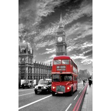 Постер London - Red Bus