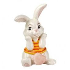 """Статуэтка """"Влюбленный кролик-девочка"""" 8 см"""