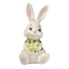 """Статуэтка """"Кролик с бабочкой"""" 8 см"""