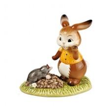 """Статуэтка """"Кролик с кротом"""" 11 см"""