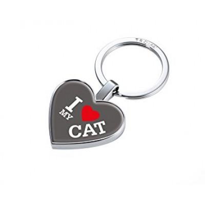 """Брелок для ключей """"I Love My Cat"""""""