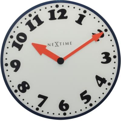 """Часы настенные """"Boy"""" с красными стрелками Ø43 см"""