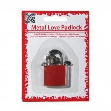 """Замочек """"LOVE"""" с двумя ключами"""