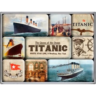"""Набор из 9 магнитов """"Titanic"""""""