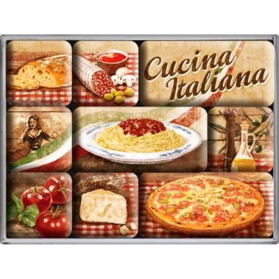 "Набор из 9 магнитов ""Cucina Italiana"""