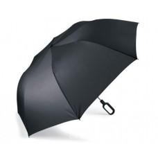 """Складной зонт """"Mini Hook"""" с ручкой-крюком, черный"""
