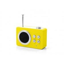 Радиоприемник Яркие впечатления (AM/FM - MP3), желтый