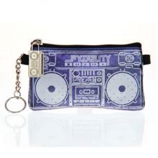 "Бумажник с динамиками ""Le Boom Box"", синий"