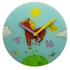 "Часы настенные ""Лошадка"" Ø30 см"