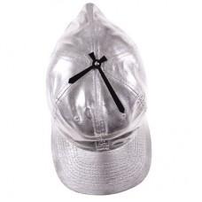 """Часы настенные """"Кепка"""", серебристые"""