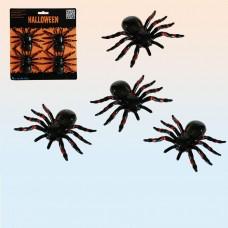Декоративный набор пауков (4 шт)