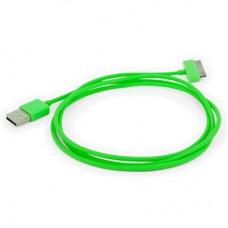 """USB кабель для iPhone и iPad """"Aiino"""", зеленый"""