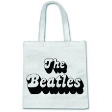 """Сумка для покупок """"The Beatles"""", белая"""