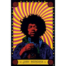 Постер Jimi Hendrix Psychedelic