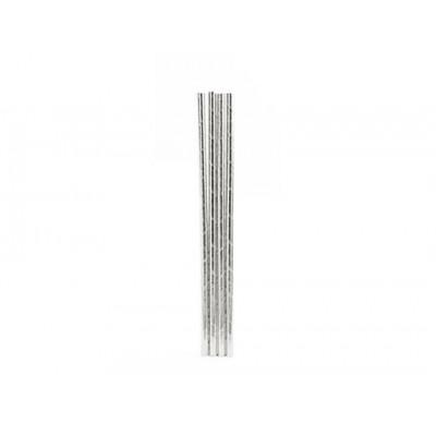 Набор трубочек Silver, бумажные