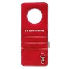 """Подвесной карман """"Не забудь"""", красный"""