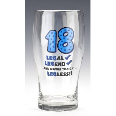 "Бокал для пива ""Age 18"" 570 мл"