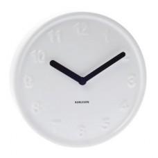 """Часы настенные """"Ceramic style"""" белые, на батарейках"""
