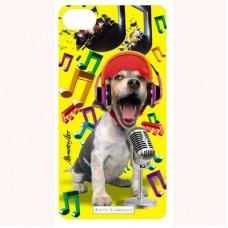 """3-D вкладыш для iPhone """"Singer dog"""""""