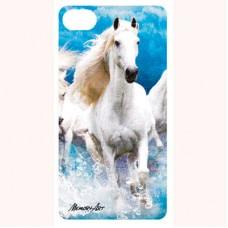 "3-D вкладыш для iPhone ""Лошади"""