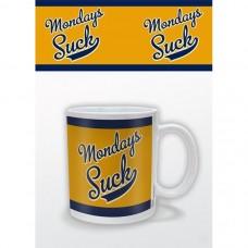 Кружка Mondays Suck