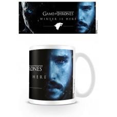 """Кружка """"Game of Thrones / Игра Престолов (Winter Is Here - Jon)"""""""