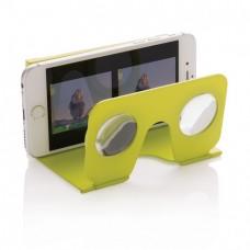 """Мини-очки """"Виртуальная реальность"""" для смартфона зеленые"""