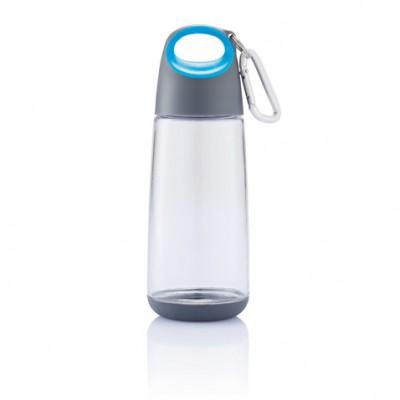 Бутылочка для воды Bopp Mini 350 мл с карабином синяя