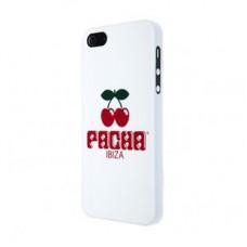 """Крышка для Iphone 5 """"Pacha logo"""", белая"""