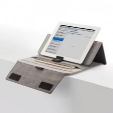 Портфель для планшета Vancouver + блокнот А5, серый