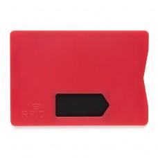 Холдер для кредитной карты Защита от считывания, красный