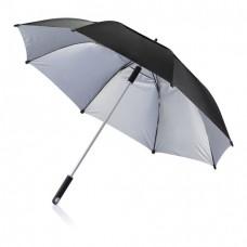 Антиштормовой зонт-трость Ураган, черный