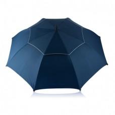 Антиштормовой зонт-трость Ураган, синий