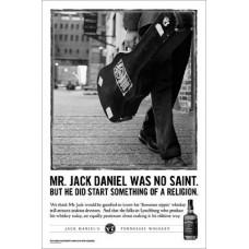 "Постер ""Jack Daniel's (No Saint)"" 61 x 91,5 cм"