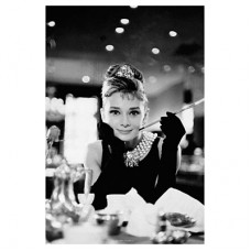 """Постер """"Audrey Hepburn-B/W Cig Port"""""""