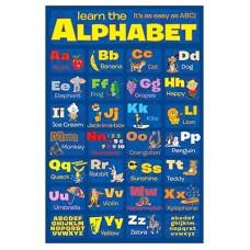 "Постер ""Изучаем алфавит"""