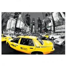 "Постер ""Rush hour Times Square (Yel"""