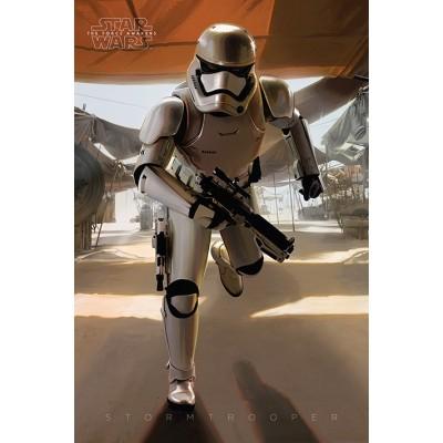 "Постер ""Star Wars Episode Vii (Stormtrooper Running) / Звёздные войны"""