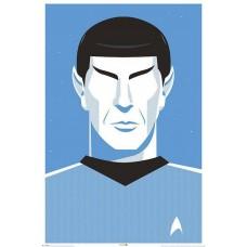 "Постер ""Star Trek (Pop Spock) - 50th Anniversary"""