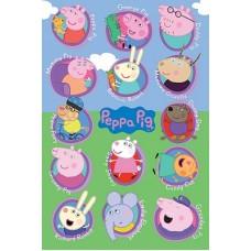 Постер Peppa Pig 61 x 91,5 cм