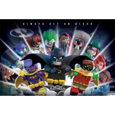 Постер Lego® Batman (Always Bet On Black) / Бэтмен