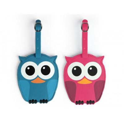 "Багажная бирка ""Whoo Owl"""
