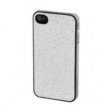 "Крышка для Iphone 4S ""Silver Glitter"""