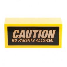"""Табличка с подсветкой """"Внимание! Родители не допускаются!"""""""