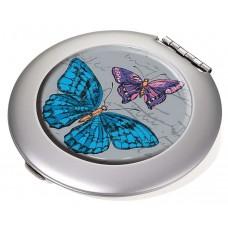 Зеркало карманное Vintage Butterflies