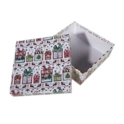 Коробка подарочная ООТВ Подарок 16 х 16 х 8 см