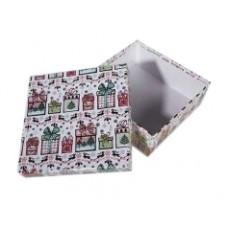 Коробка подарочная ООТВ Подарок 22 х 22 х 8 см