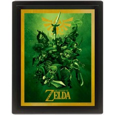 "3D Постер ""The Legend Of Zelda (Link)"""