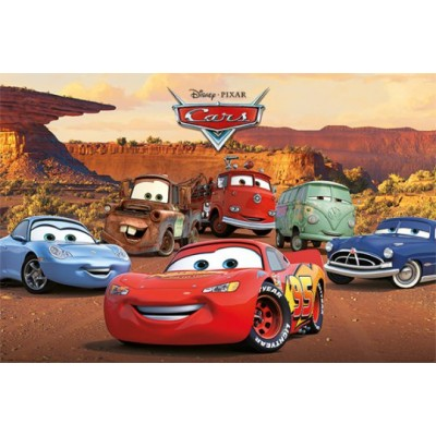 """Постер """"Cars (Characters)"""""""