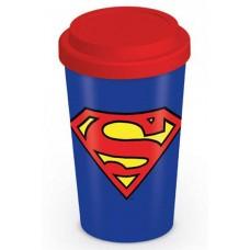 Эко кружка для путешествий (с крышкой) Dc Comics (superman) / Супермен